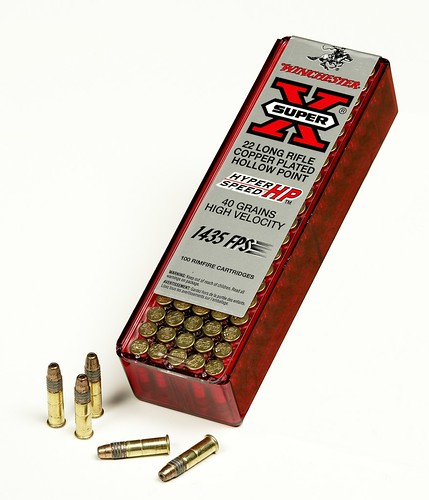 rimfire bullet. its rimfire ammunition