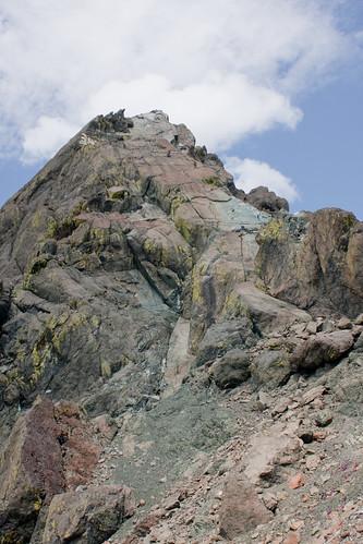 Climbers on Ingalls Peak
