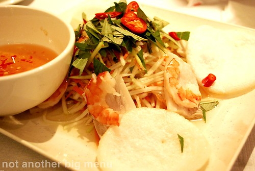 Tay Do - Lotus roorlet salad with prawns (Goi Ngo Sen Tom Thit) £5.50