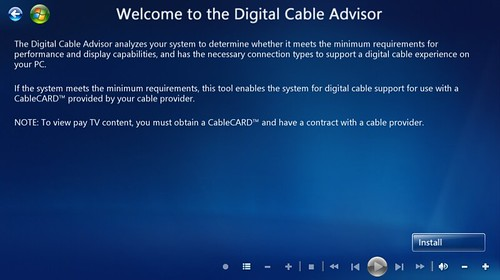 Windows 7 MC Digital Cable Advisor 1