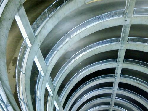 Kee Klamp Guardrail Edmonton Parking Garage
