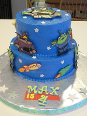 Buzz Lightyear Cake photo by jlmooraj