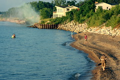 Beach erosion photo by kevin dooley
