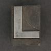 Caslon metal type letter L