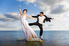 Newlyweds photo by alexey05