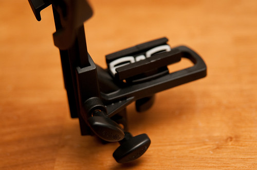 Close up of the shoe mount