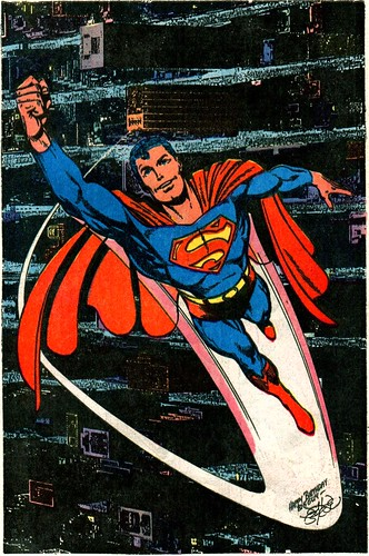 Superman 400 pinup by John Byrne