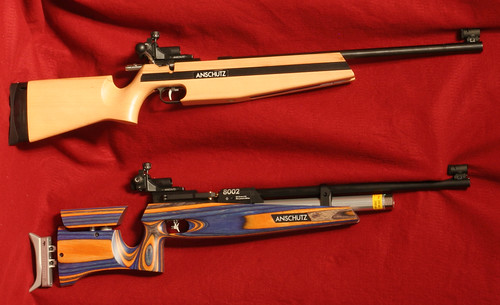 Anschutz's Intermediate  22 & 8002 Compressed Air Rifle – The