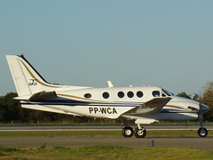 RAYTHEON AIRCRAFT BEECHCRAFT BEECH KING AIR C90B – SBCY photo by JONES CESAR DALAZEN