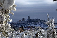 Le Torri e la neve... photo by rana63...