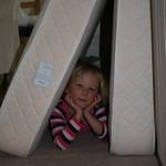 Chilling between my Matresses<br/>11 Oct 2009