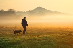 Man and Dog photo by midlander1231
