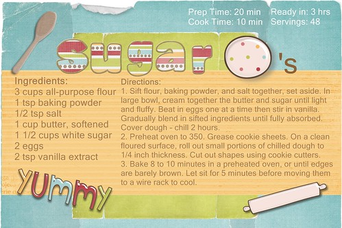 My Sugar Cookie Recipe