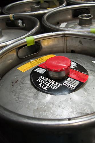 AB in a keg