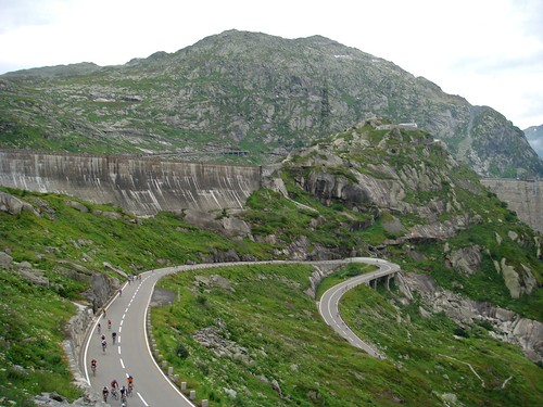 Grimsel Pass - below the dam