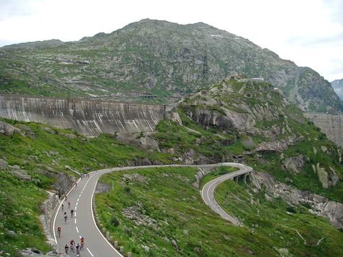 Grimsel Pass - below the dam