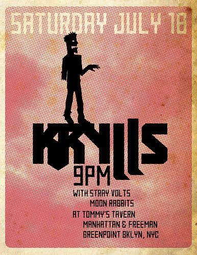 Krylls Poster 07/18/09