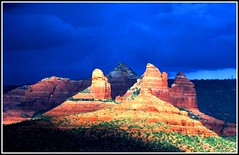 Stormy Sky in Red Rock Canyon photo by moonjazz
