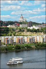 downtown saint paul mississippi riverfront photo by Dan Anderson.
