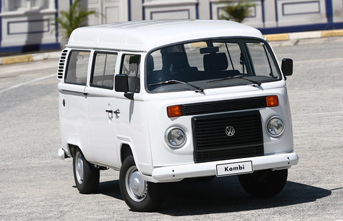 The current VW T2 Kombi being built in Brazil