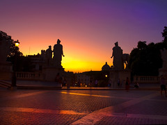 Capitoline Sunset photo by MarcelGermain