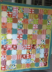 Red Letter Day quilt finished! photo by jgmehlin