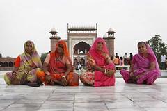 India: Inside the Taj photo by babasteve