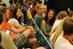 Comic-Con 2009: The Guild Panel - Michele Boyd (Riley/STHG), Maurissa Tancharoen photo by briankameoka