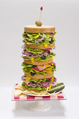 Dagwood Sandwich Cake photo by studiocake