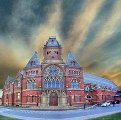 Memorial Hall: Harvard University, Cambridge, (Greater Boston) Massachusetts, USA photo by Tomasito.!