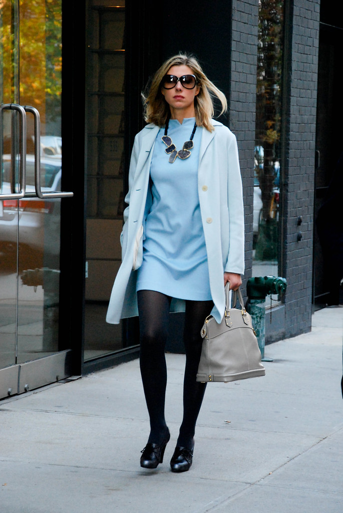 Blue Dress, West Chelsea