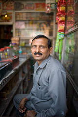 India #31: store manager photo by zane&inzane