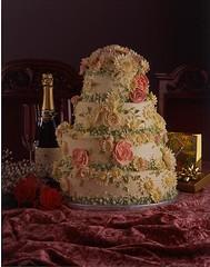wedding cake photo by Katjas Cakes