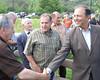 Investissement de 744 000 $ dans le projet de Parc récréotouristique Saumon Rivière Malbaie  Photo : L'Hebdo Charlevoisien