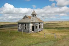 Twin Butte School #1- Abandoned North Dakota photo by j_piepkorn65