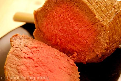 Roast beef meal 7