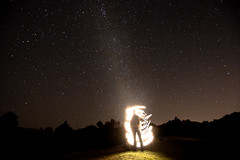 Paul Meets the Milky Way photo by boltron-