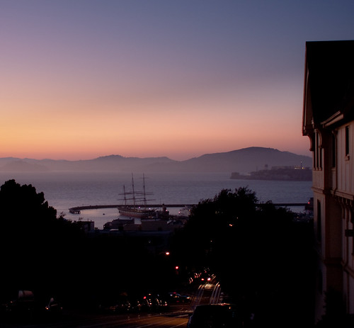 San Fransisco Bay at Dusk