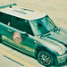 Heliport on Mini Cooper S