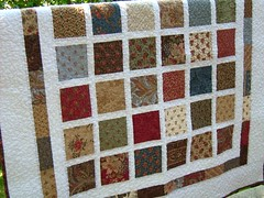 Portobello Market Lap Quilt photo by DashasCreations