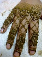 حــنه الاصابع فقط photo by » الحناية ولاء «