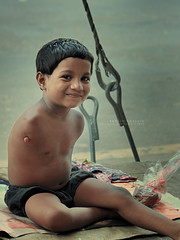 think twice of what u have! thank Almighty for that, appreciate life n SMILE! photo by Tahsin Hossain