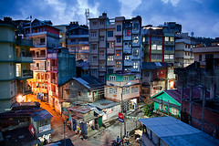 Kalimpong, Blue hour photo by David Pinzer