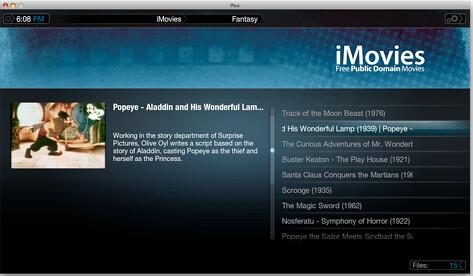 iMovies Plugin for Plex