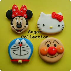 character cookies photo by JILL's Sugar Collection
