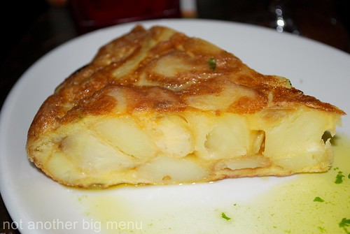 La Tasca - Tortilla Española £3.60 (Spanish-style omelette, with potato and onion)
