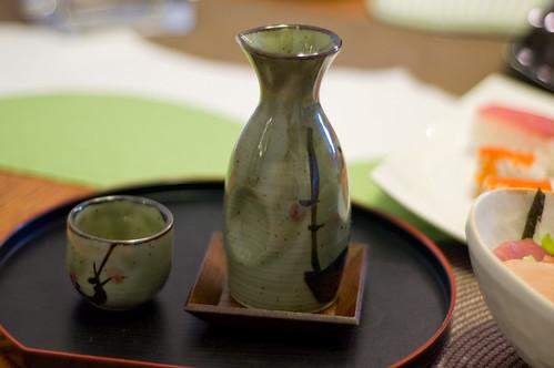 Sake with Sushi