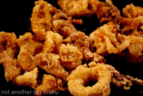 Seafood meal 2 - fried squid