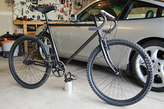 Completed Schwinn High Sierra Fixie Build photo by j_tenkely