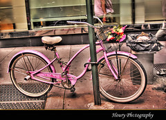 Dynamic pink bike!!! photo by Houry Photography -on/off